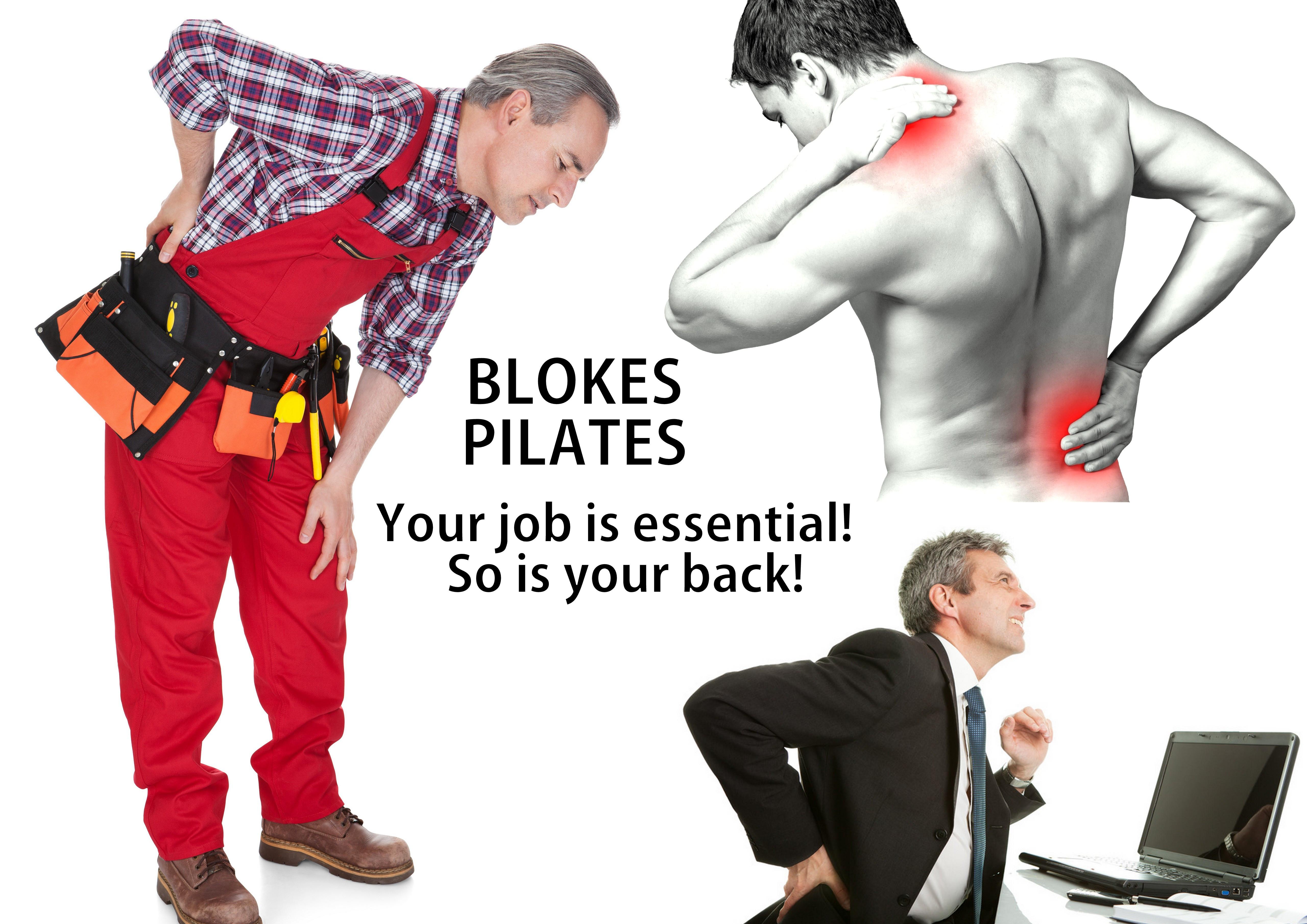 Blokes Pilates: Monday 20:30