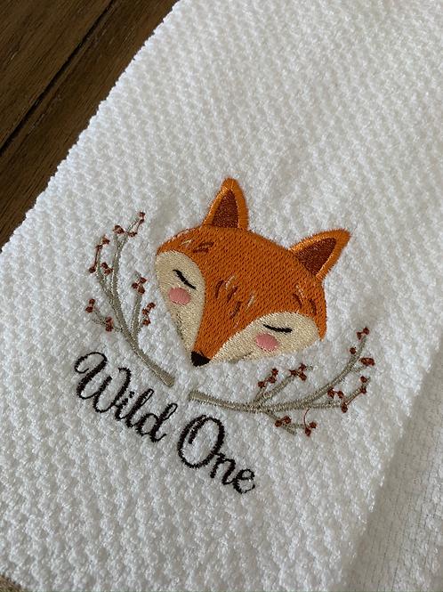 Wild OneFox Hand Towel