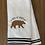 Thumbnail: Brown Bear Wild At Heart Hand Towel