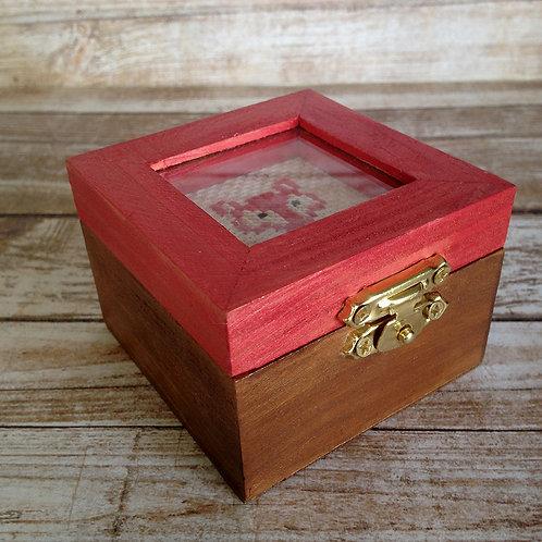 Woodland Creature Sly Fox Keepsake Box