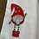 Thumbnail: Sweet Gnome in Red Hat and Boots Hand Towel