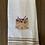 Thumbnail: Flowery Cat Head Hand Towel