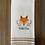 Thumbnail: Wild OneFox Hand Towel
