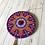 Thumbnail: Purple Mandala Hand Painted Ornament