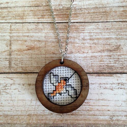 Sweet Hummingbird Pendant Necklace