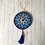 Thumbnail: Blue Mandala Hand Painted Ornament