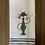 Thumbnail: Sweet Gray Cat With Rose Hand Towel
