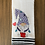 Thumbnail: Sweet Gnome in Red Boots and Purple Hat Hand Towel
