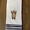 Thumbnail: Christmas Lights Brown Bear Hand Towel