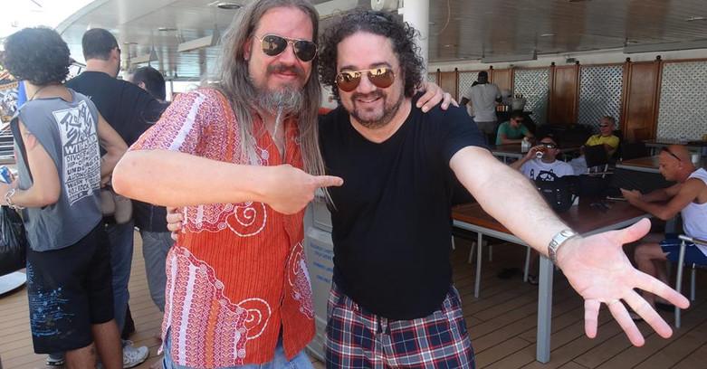 Renato Moog e Mateus Schanoski