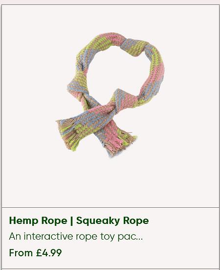 Hemp Rope Squeaky [Large]