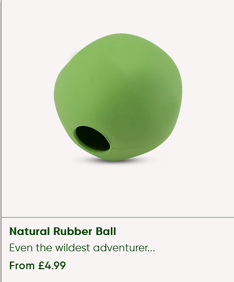 Natural Rubber ball [Large]