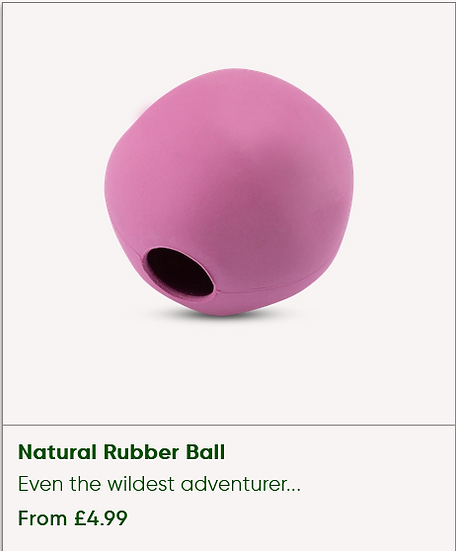 Natural Rubber ball [Medium]