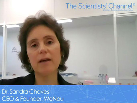 WeNou founder shares food testing insights with The Scientists' Channel