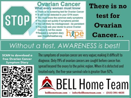 Hope for Heather Partners Bell Home Team Join Awareness Effort