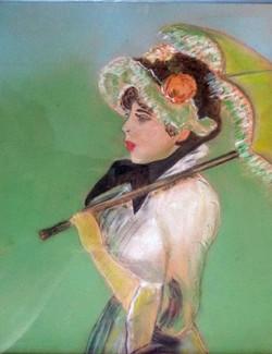 Mireille Godenèche - Pastel