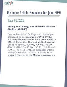 Medicare-Article Revisions for June 2020