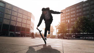 Freestyle Skateboarding in Berlin   Private Project