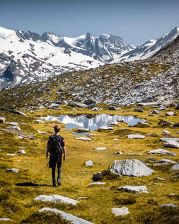 Hiking the Abbott Ridge Trail in Glacier National Park, British Columbia, Canda