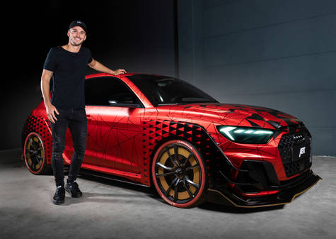 Daniel Abt with ABT Audi A1 1of1