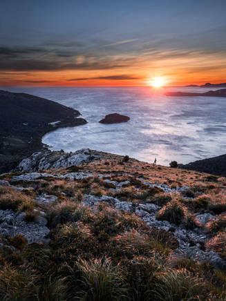 Epic sunrise at Cap de Formentor, Mallorca, Spain
