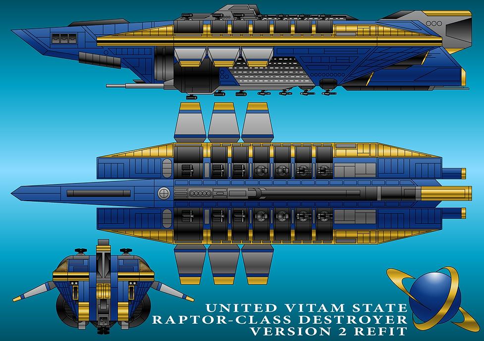 Raptor Destroyer Refit