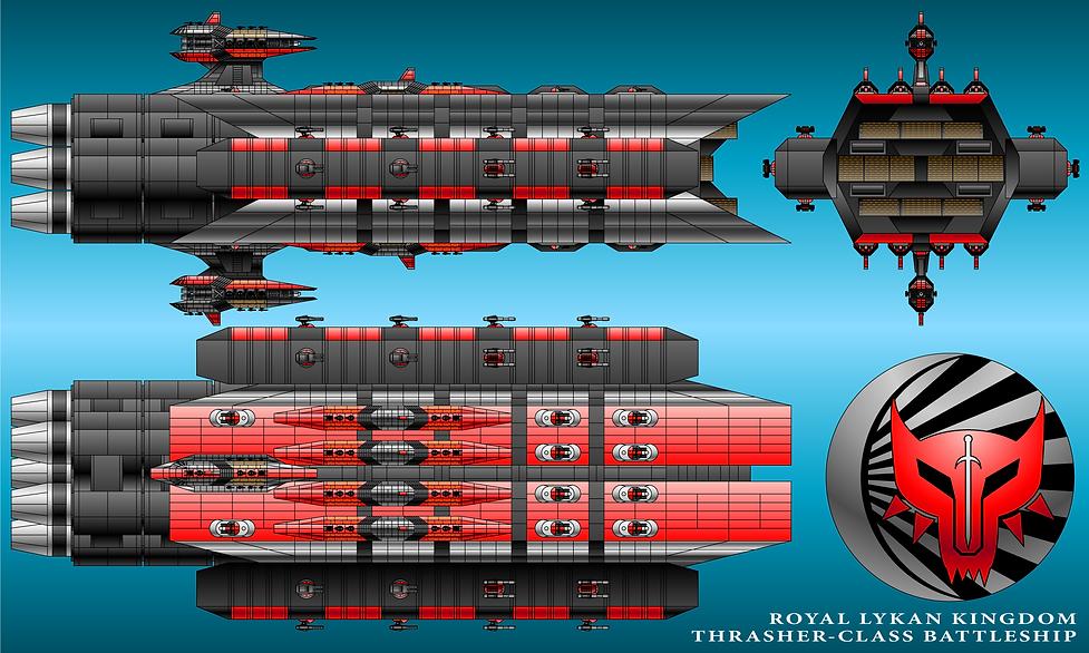 Thrasher Battleship
