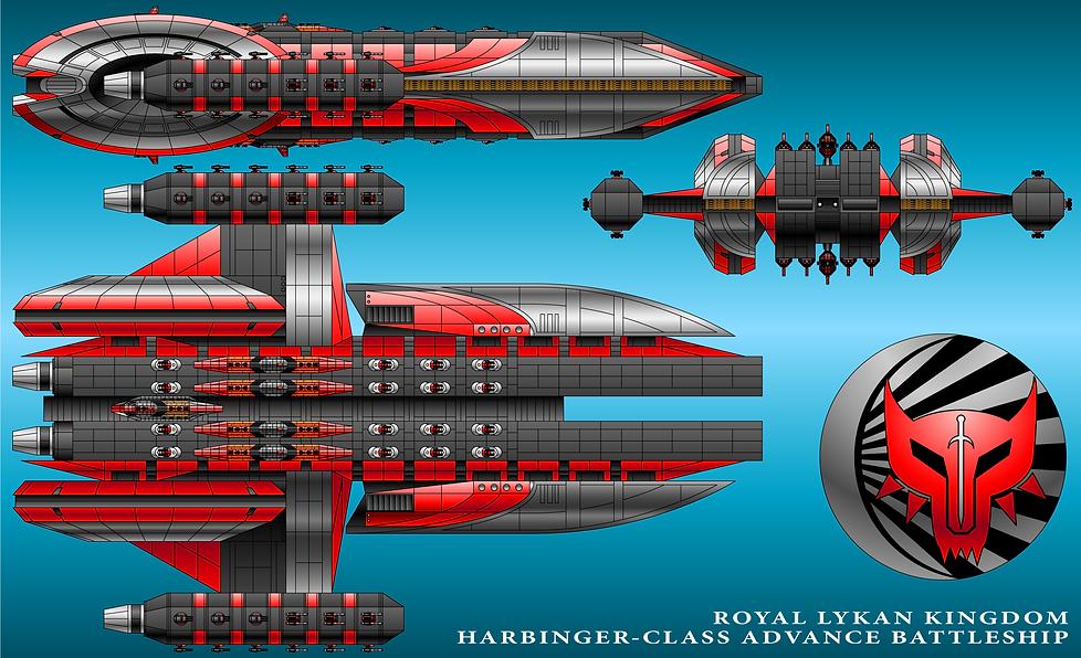 Harbinger Prototype Battleship