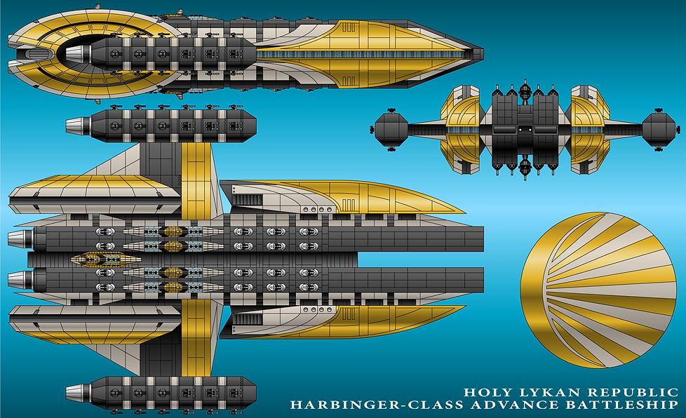 Harbinger Advance Battleship