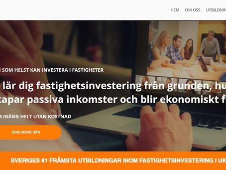 NYHET! Vår nya hemsida är lanserad!