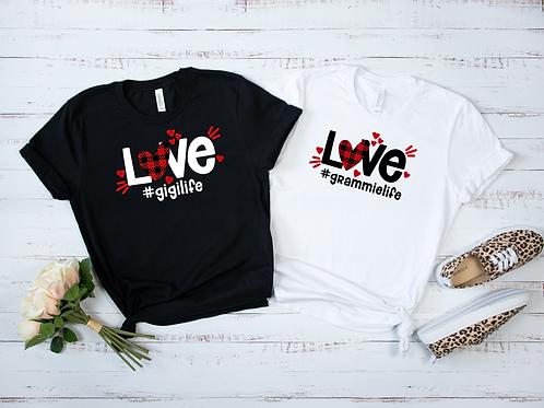 Love #life Shirt