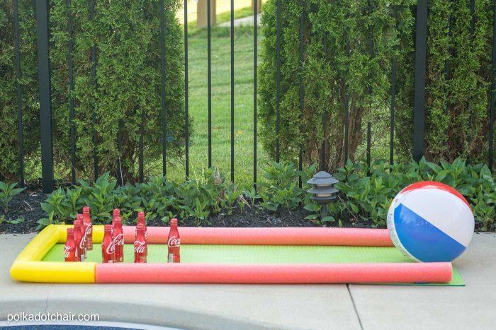 Outdoor Backyard Beach Ball Bowling