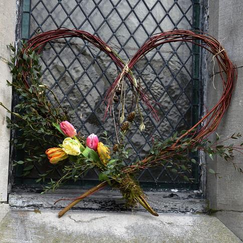 heart tribute biodegradeable