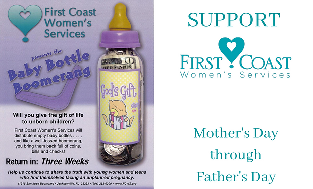 Baby Bottle Campaign Mother's Day Web Ev