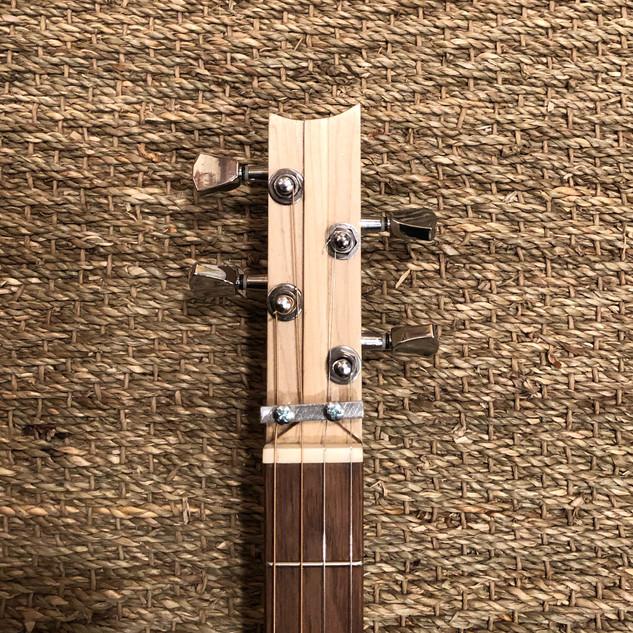 Hardware for cigar box guitar
