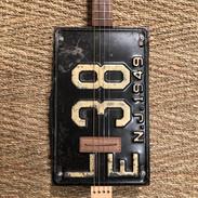 License plate for Ciagr Box guitar