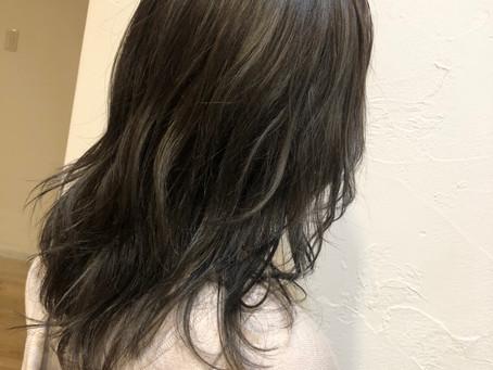 髪の毛染めました!