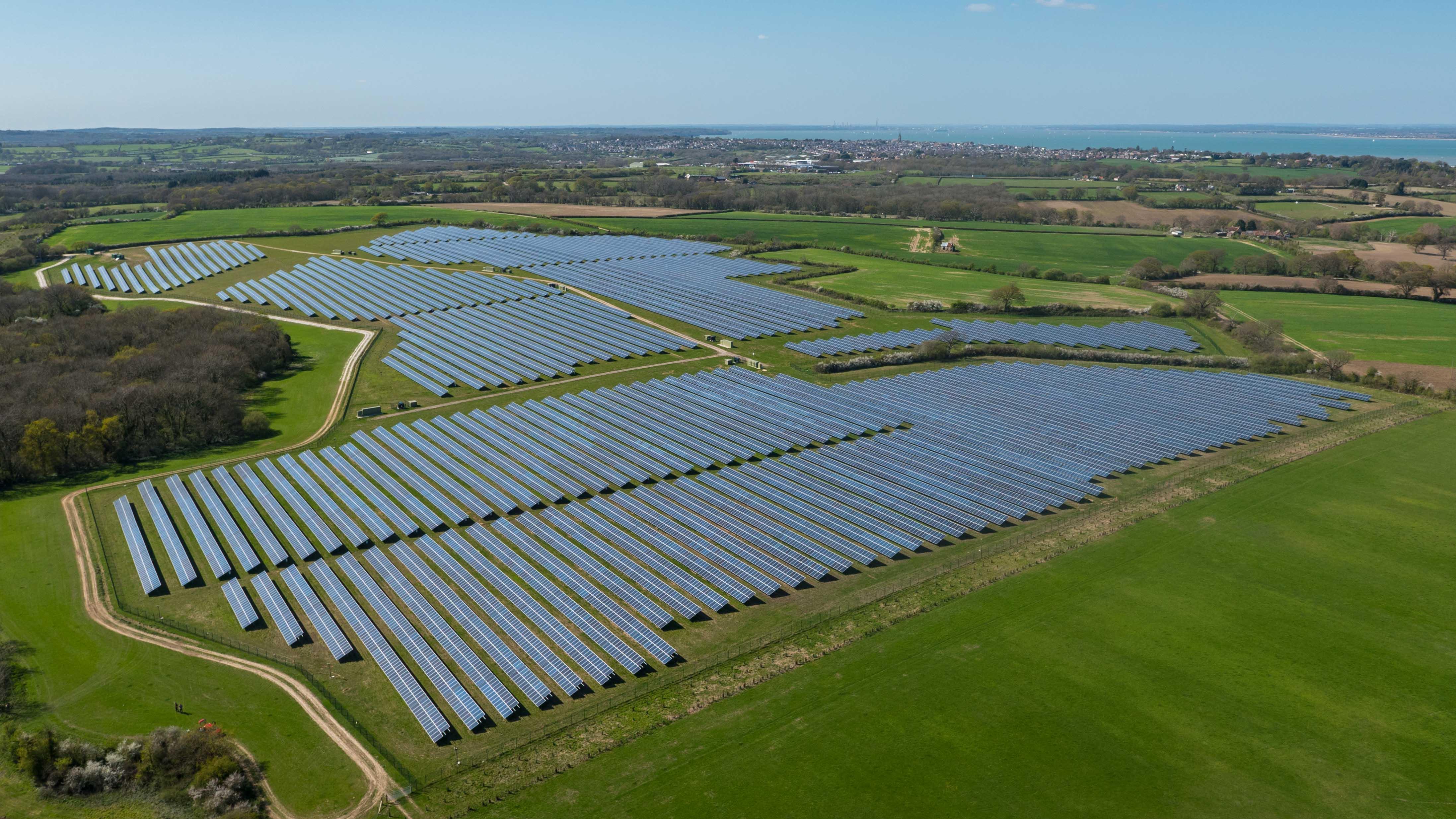 Solárna farma UK