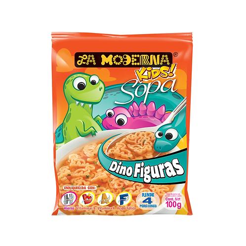 Sopa La Moderna Kids Dinosaurs Tomato & Chicken
