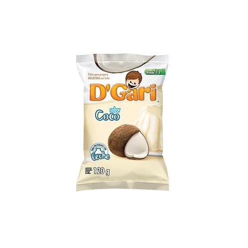 Gelatina D'Gari de Leche Coco (Coconut)  - 120 g