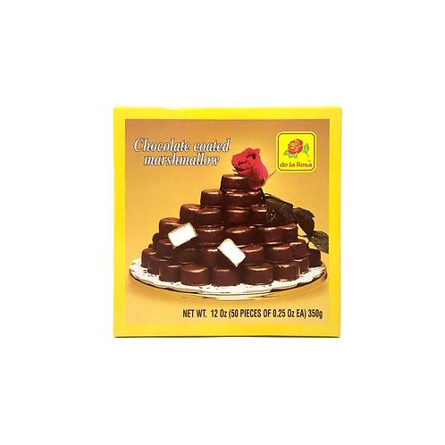Chocolate Coated Marshmallow De la Rosa 350 g