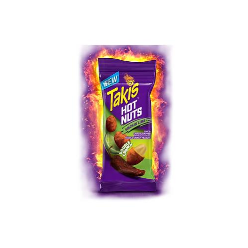 Takis Hot Nuts Smokin Lime 90.8g