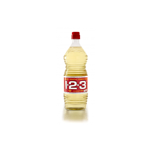 Aceite de cocina 1-2-3 (Cooking Oil) - 1 L