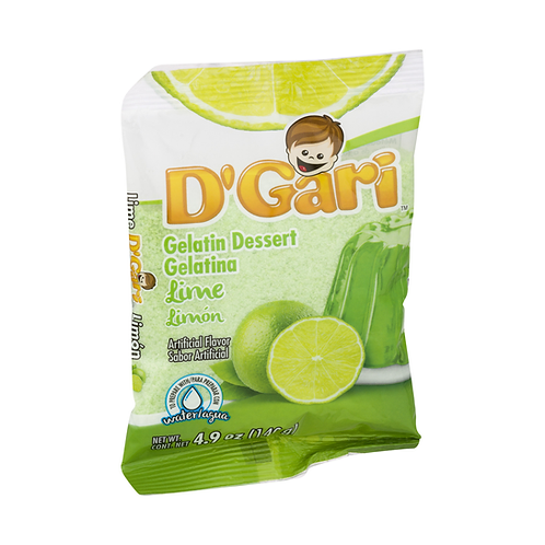 Gelatina D'Gari  de Agua Limon - 120 g