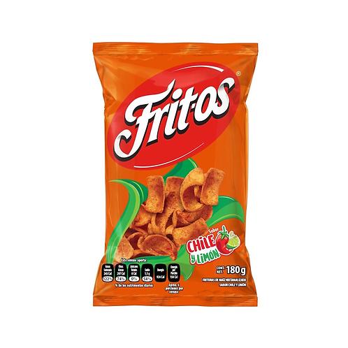 Fritos con Chile y Limon
