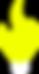 Lumen Logo Icon - Only Fire Bulb White B