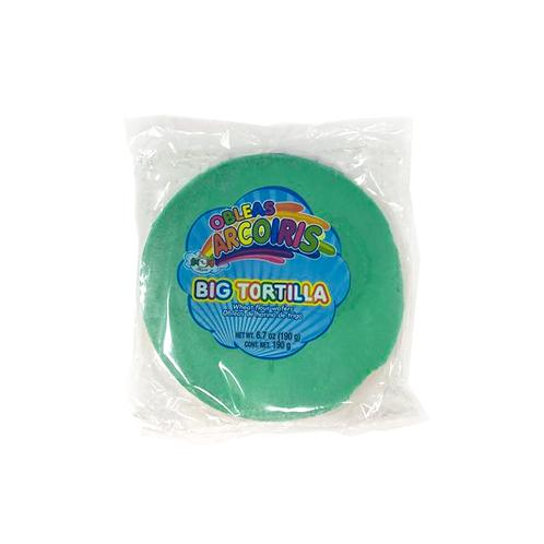 Obleas Arcoiris Big Tortilla (Wheat flour wafers) 190 g
