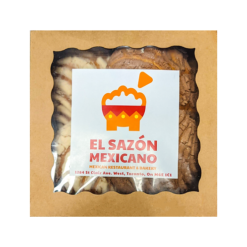Conchas - El Sazón Mexicano - 4 pzas