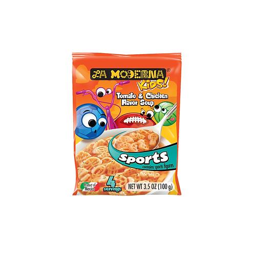 Sopa La Moderna Kids Sports Tomato & chicken - 100 g