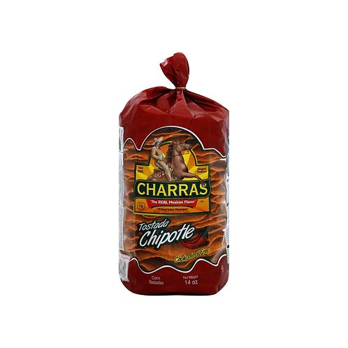 Tostadas Charras Chipotle 250 g